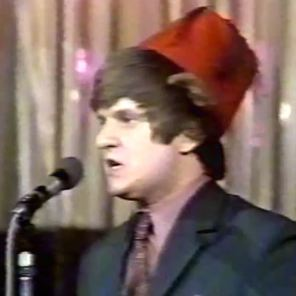One of many Tommy Cooper impersonators